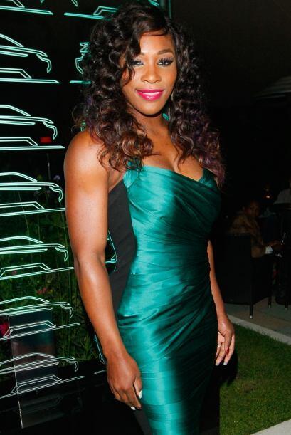 Serena Williams es una 'diosa del glamour'. Cada que hay un evento, la e...