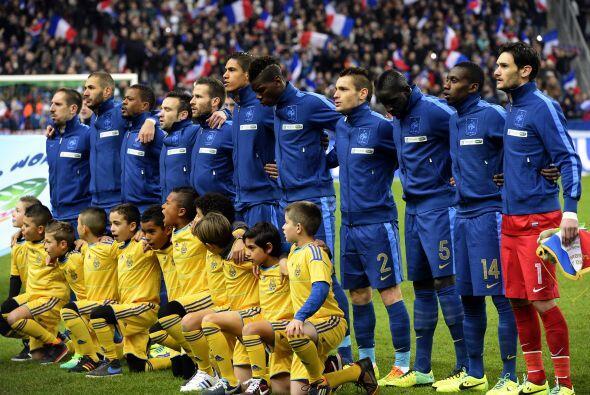 El momento de cambio generacional que vive la Selección de Francia pone...