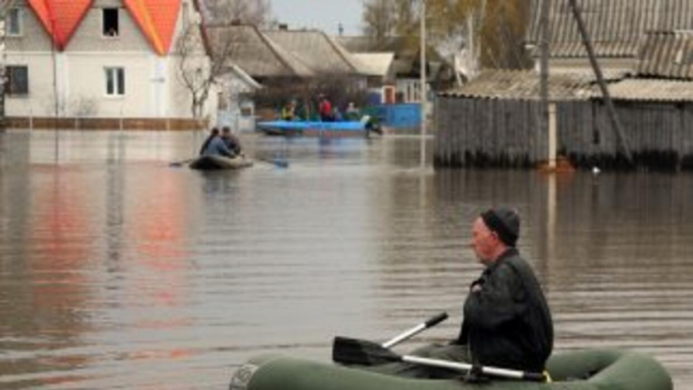 El litoral del Mar Negro vive unas inundaciones sin precedentes causadas...