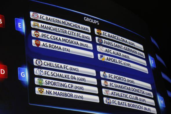 En los cuatro grupos restantes sobresale el poderío de Bayern Mun...