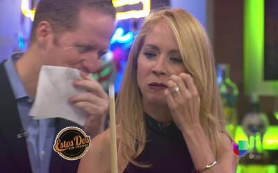 Alexandra Fuentes y David Bernier se sometieron a un intenso juego de bi...