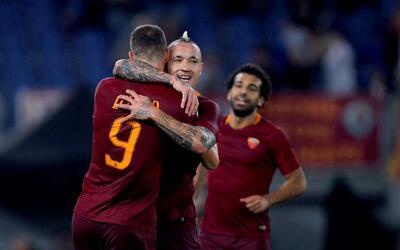 La Roma venció 4-1 al Palermo