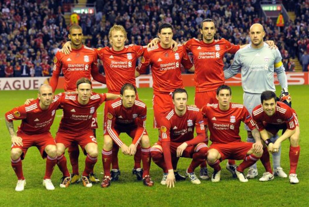 7. LIVERPOOL- Subiendo dos peldaños encontramos al Liverpool, esta marca...