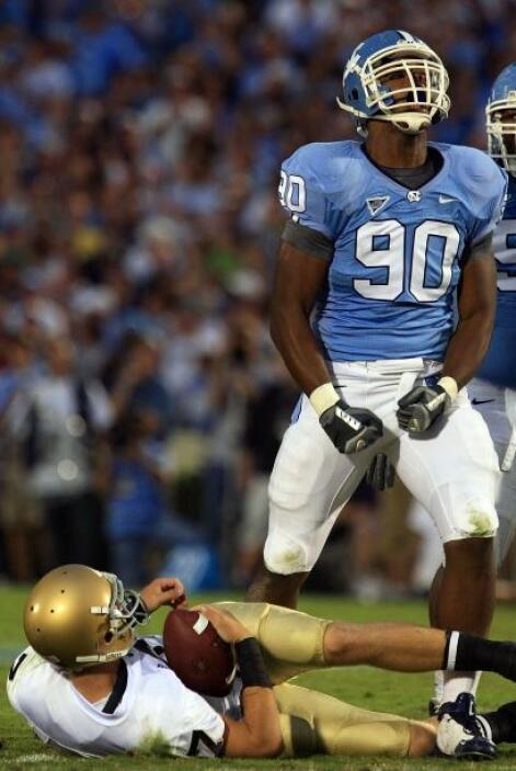 1. Quinton Coples - North Carolina - Edad 21 años - Estatura 1.98 m (6'6...