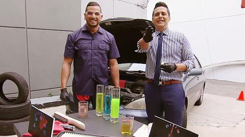 Chabán aprendió el mantenimiento básico de su auto para este verano