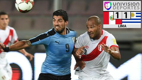 Perú 1-1 Uruguay