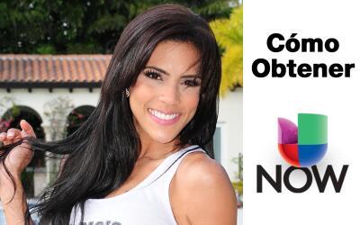 Así puedes obener Univision NOW