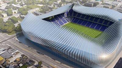 Bosquejo de diseño de estadio de MLS Miami
