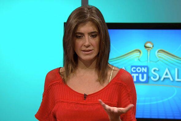 Por tal motivo, la doctora María Patricia Restrepo recomendó a los telev...