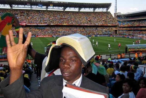 Este sudafricano apeló incluso a la Biblia para darle buena suert...