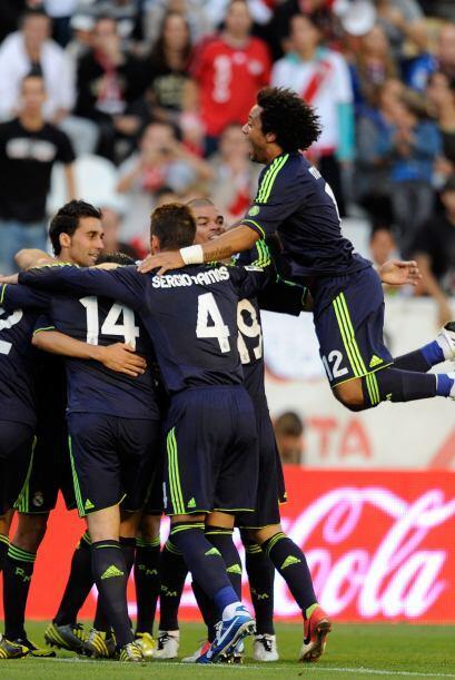 El astro portugués convirtió el 2-0 luego de cobrar un pen...
