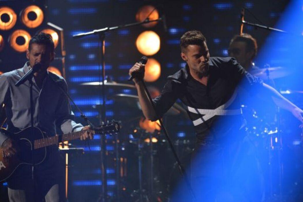 Draco platicó con Romeo quien también hizo parte de los 'performances'.