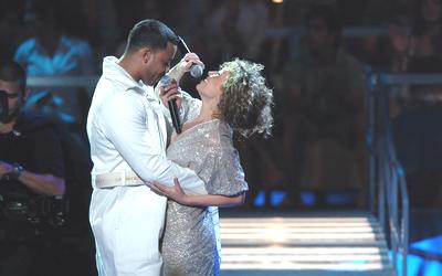 Thalía y Romeo