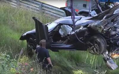 Accidente Koenigsegg One:1 en Nurburgring