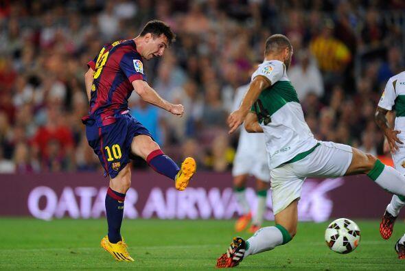 Ya para el minuto 63, Messi volvería a hacer delas suyas.