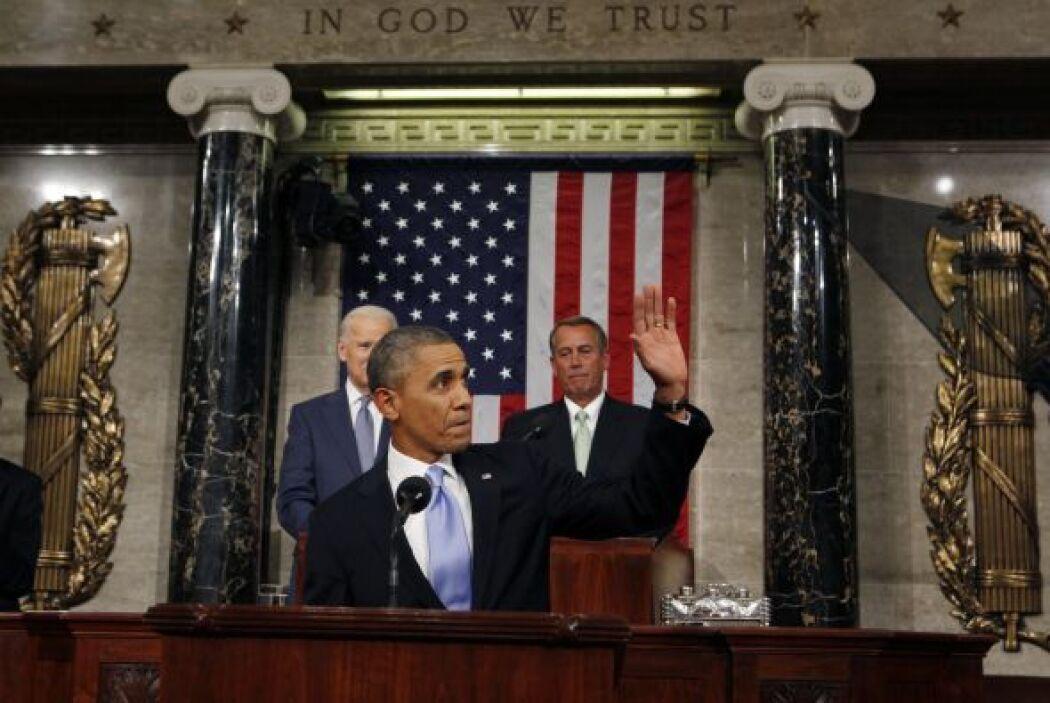 """En tanto, Obama afirmó que 2014 """"puede ser un año decisivo"""" para el país..."""