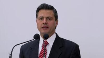 Enrique Peña Nieto, candidato presidencial del Partido Revolucionario In...
