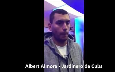 Albert Almora habla del arranque de la temporada de los Cubs