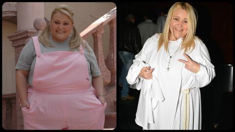 Sheyla sigue bajando de peso