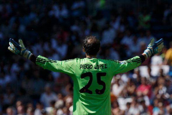 La imagen del agradecimiento de Diego López es realmente hermosa. Su gra...