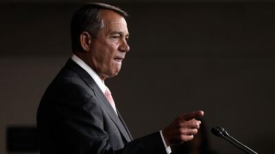 Boehner le pide a Obama cambios en las leyes migratorias en lugar de más...