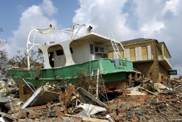 Aunque Katrina se desató días antes, lo peor llegó un 29 de agosto cuand...