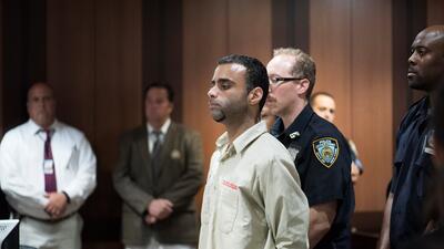 Oscar Morel, el hispano acusado por el asesinato del imán Maulama Akonje...