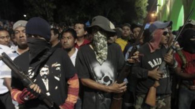 Un activista que anunció la formación de grupos de autodefensa está desa...