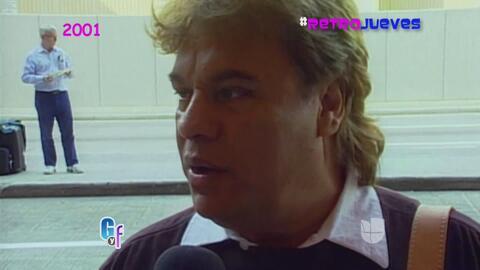 #RetroJueves: Cuando Juan Gabriel le robó el look a Cristian Castro