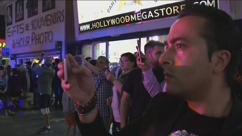 Persecución policial es confundida por filmación de película en Hollywood