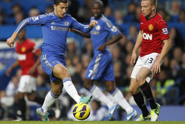 El Chelsea se veía gris y sin chispa en esos primeros minutos, por lo qu...
