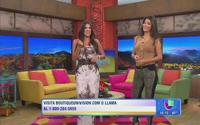 Ana Patricia y Maity  te dicen cómo vestir como ellas con Boutique Univi...