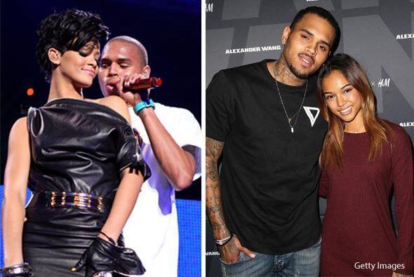 Hace unas semanas Rihanna no podía creer que Chris fuera papá y Karruech...