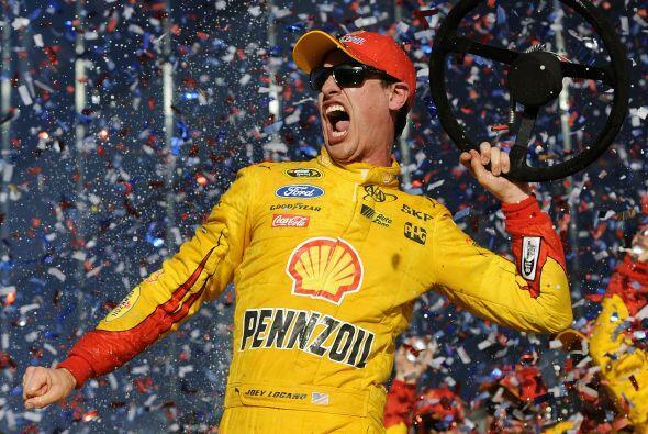 22 de Febrero - 57th Annual Daytona 500 -  Joey Logano, piloto del # 22...