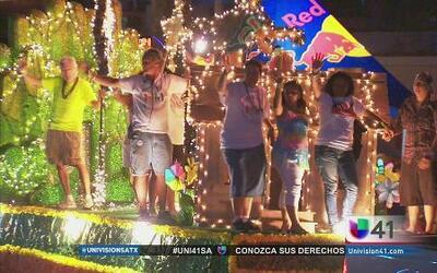 Desfile de la comunidad Gay en San Antonio