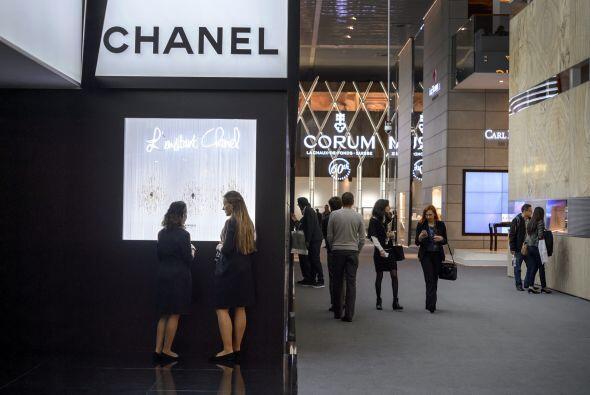 Chanel también tuvo un lugar en BaselWorld.