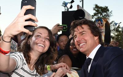 Tom Cruise presentó a sus fanáticos 'Jack Reacher: Never Go Back'