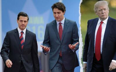 Presidente Donald Trump no sacará a EEUU del NAFTA, por ahora
