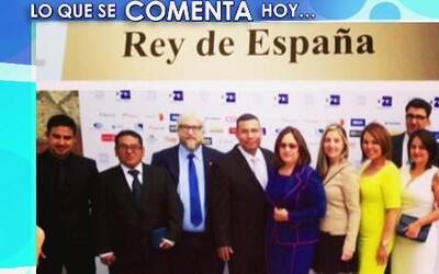 Univision Noticias recibió el premio Rey de España