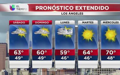 Amanecer seco en Los Ángeles, el pronóstico para este sábado 25 de febrero