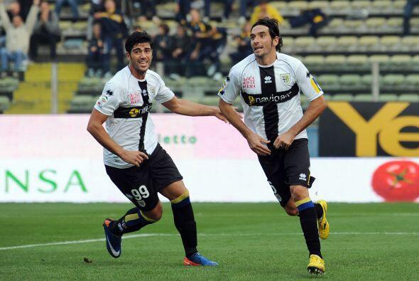 Gabriel Paletta tuvo que ser el encargado de hacer el 1-0.