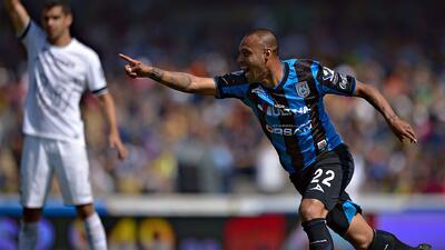 Empate 1-1 entre los Pumas y Querétaro