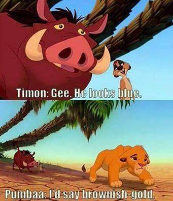 Timón y Pumba también tuvieron su opinión.