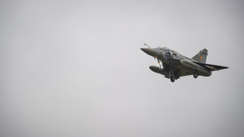 Un avión de combate Mirage 2000D