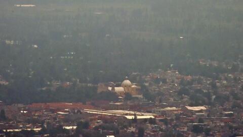 Vista parcial de Ciudad de México.