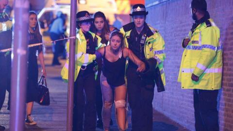 La Policía de Manchester está hablando de múltiples...