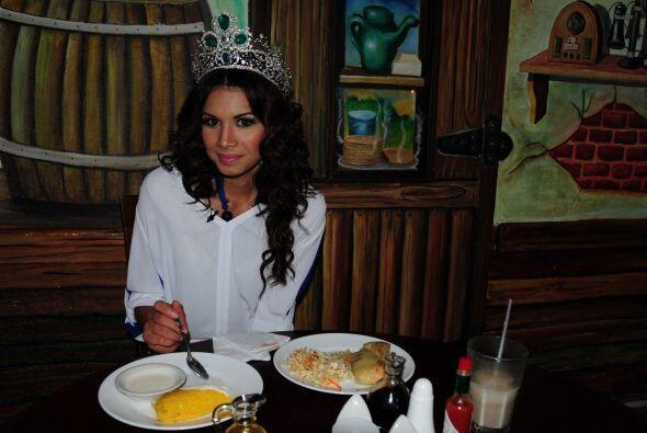 Después de la estricta dieta que Marisela mantuvo durante la comp...