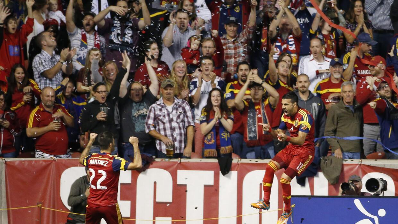 RSL celebra triunfo sobre LA Galaxy