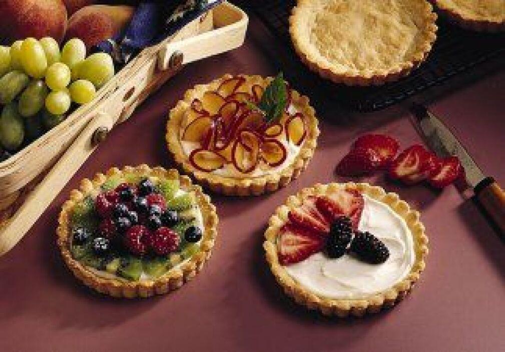 Tartas cremosas de fruta: Si tienes una reunión con amigos a la hora de...