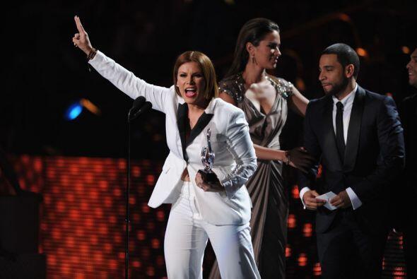 Olga Tañón fue la última en recibir este reconocimiento y es la reina in...